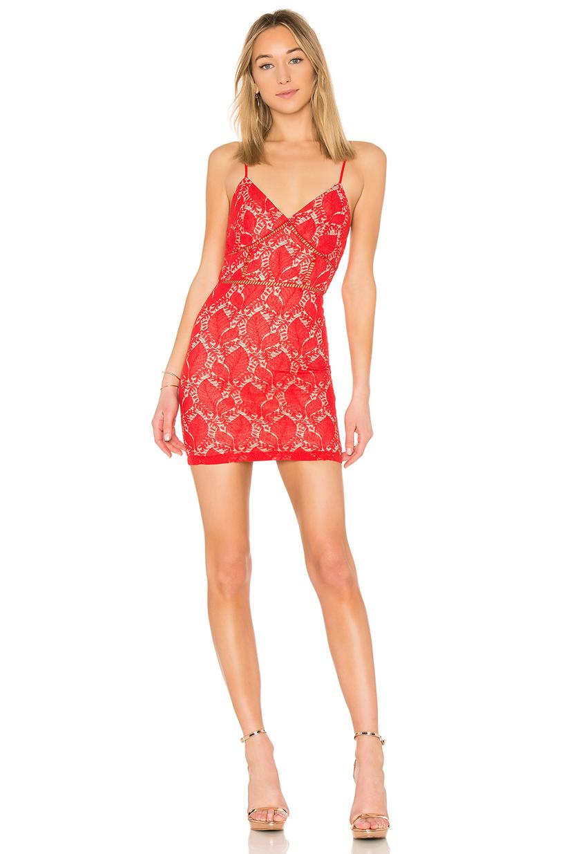 60b878436d07 By The Way. Superdown Kensie Lace Mini Dress In Red. | ModeSens