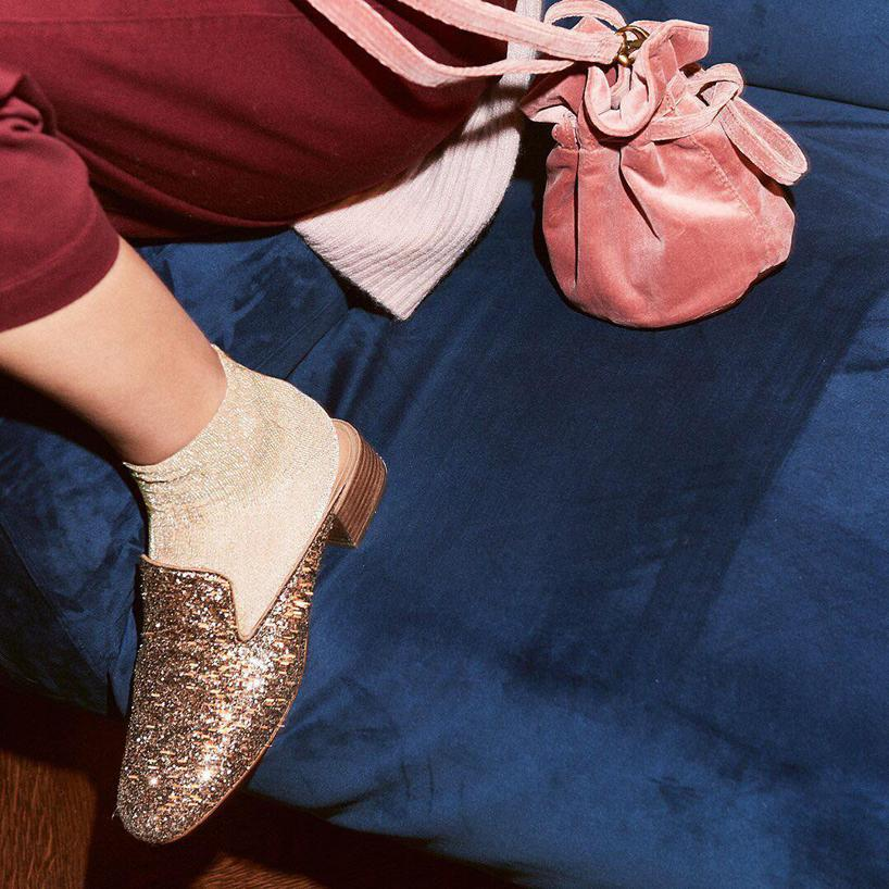 494b828485d Madewell The Willa Loafer Mule In Smoky Gold