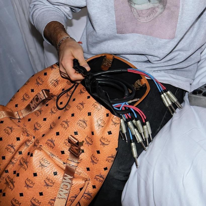 1f693be216920 Mcm Medium Vintage 2 Pocket Backpack - Brown In Cognac