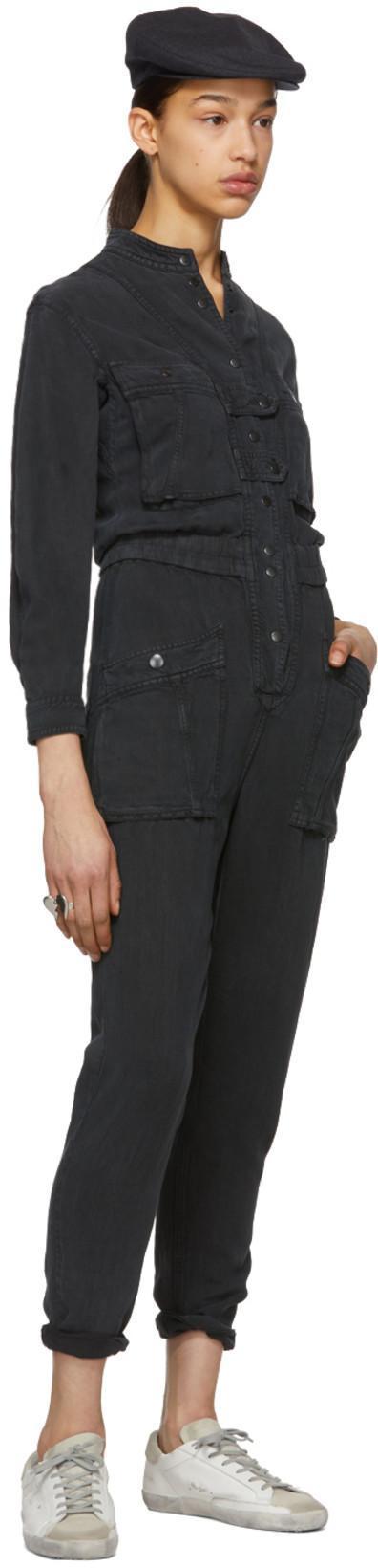 c3d7054398 ETOILE ISABEL MARANT Isabel Marant Étoile Jumpsuit Mit Taschen - Farfetch  in Black