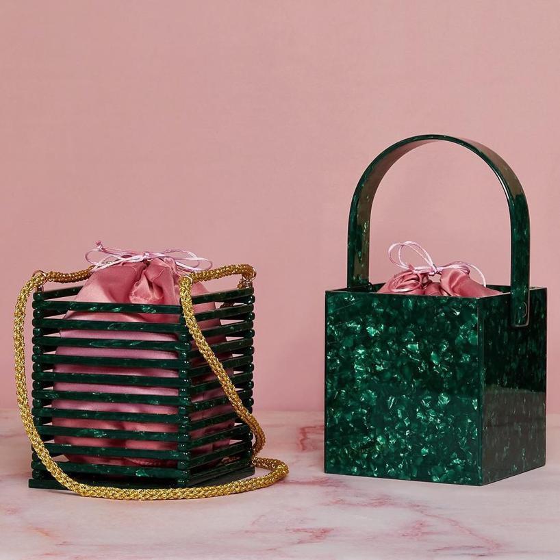 1202545d4d Montunas Vanda Acetate Box Bag In Multi   ModeSens