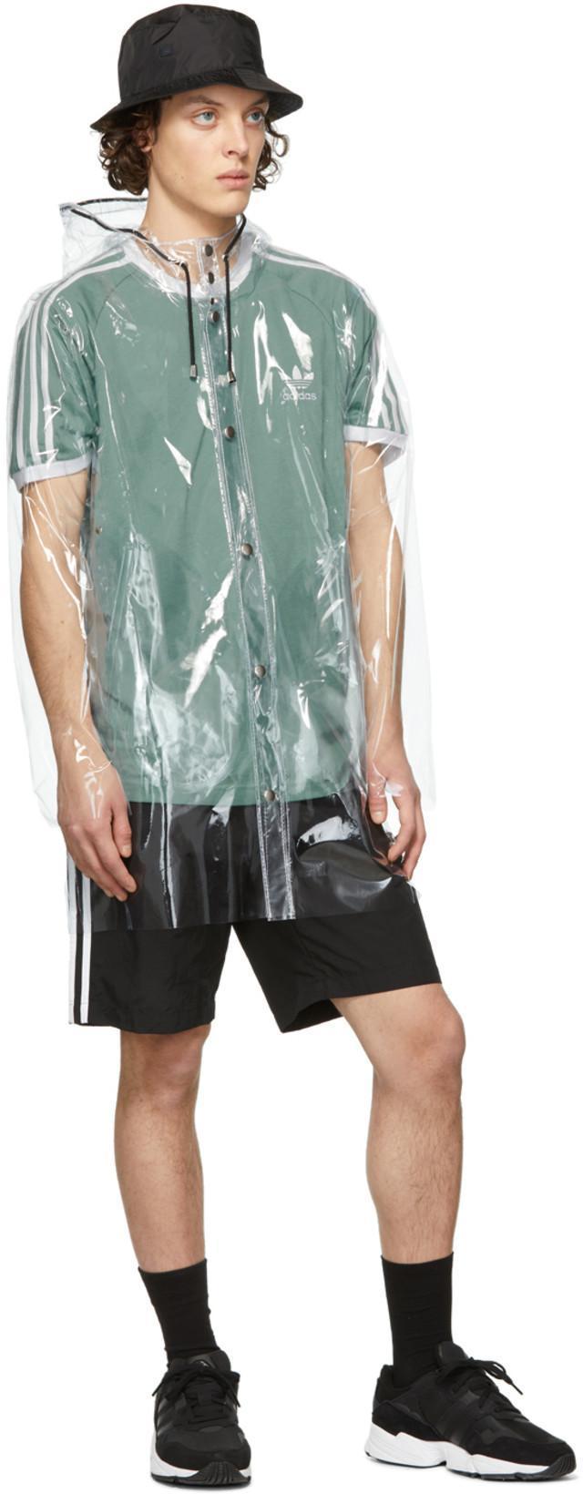 50191379d Stutterheim Transparent Stockholm Raincoat