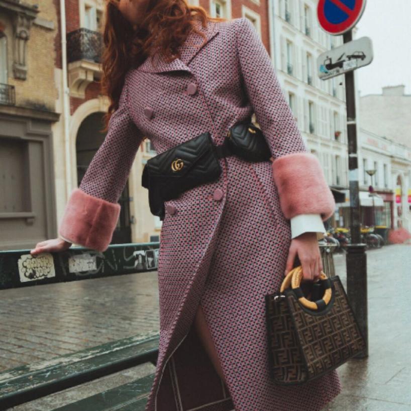 73bc47c95ce Gucci Gg Marmont 2.0 Matelasse Triple Pouch Leather Belt Bag - Black ...
