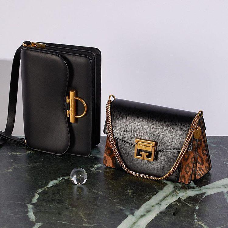 3477db1e36d8 Givenchy Gv3 Mini Suede And Leather Cross-Body Bag In Leopard | ModeSens