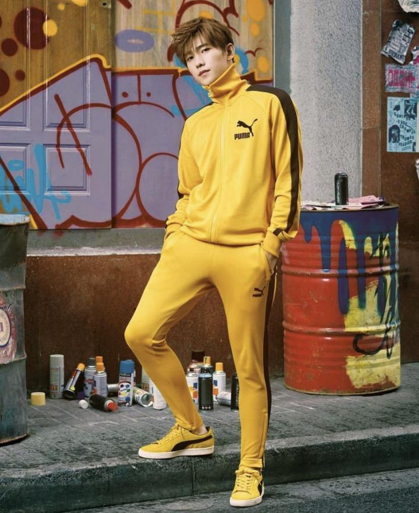 4a9b96f6b5cc Puma T7 Vintage Joggers In Yellow 57498748 - Yellow