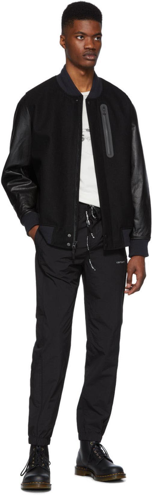 054fd5a5885 CARHARTT Carhartt Work In Progress Black Casper Lounge Pants in 89 Black