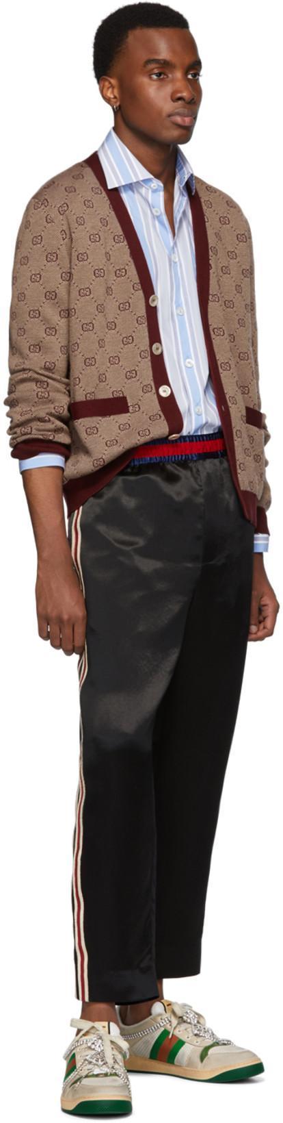 5ae0538715 Gucci Gg Jacquard Knit Cardigan In 9192 | ModeSens